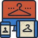 Online Cloth Shop Icon
