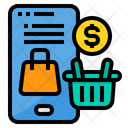 Marketing Smartphone Online Icon