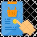 Online Mobile Smartphone Icon