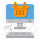 Shopping Computer Ecommerce Icon