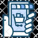 Online Market Business Icon