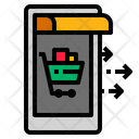 Online Internet Shopping Icon