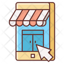 Online Shopping Ecommerce Shopping Icon