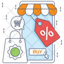 Ecommerce Online Shopping Buy Online Icon
