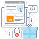Online Order Online Shopping Ecommerce Icon