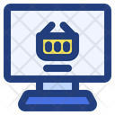 Online Shopping Internet Store Icon