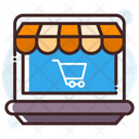 Online Store Online Shopping Shopping Store Icon