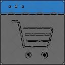 Seo Web Ecommerce Icon