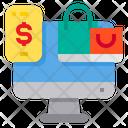 Shopping Shopping Bag Smartphone Icon