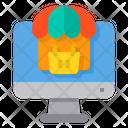 Online Shopping Eommerce Shopping Basket Icon