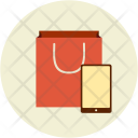 Shopping Bag Mobile Icon