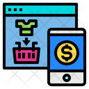 Website Online Shopping Icon