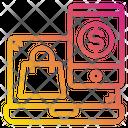 Laptop Shopping Bag Smartphone Icon