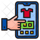 Shopping Smartphone Online Icon