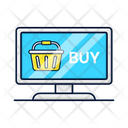 Nline Shopping Commerce Icon