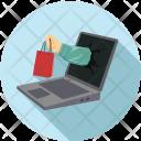 Online Shopping E Shopping Icon