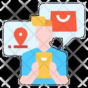 Online Shopping E Commerce Icon