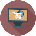 Online Shopping Shop Icon