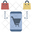 Shopping Online A Commerce Commerce Icon