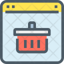 Online Shopping Website Icon