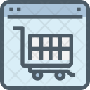 E Commerce Website Online Icon