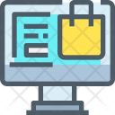 Online Shopping Marketplace Icon