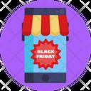 Black Friday Sale Black Friday Sale Tag Icon