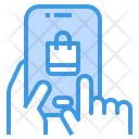 Mobile Shopping Payment Method Shopping Bag Icon