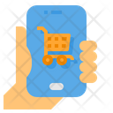 Online Shopping Mobile Shopping Mobile Icon