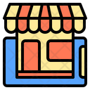 Shoping Online Digital Payment Icon