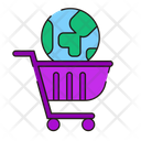 Ecommerce Trolley Cart Icon