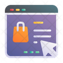 Shopping Ecommerce Online Icon