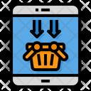 Online Shopping Shop Basket Icon
