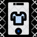 Online Shopping Mobile Shopping E Commerce Icon