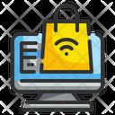 Online Shopping E Commerce Shopping Icon