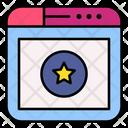 Online Shopping Favorite Shopping Website Icon