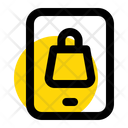 Shopping Mobile Smartphone Icon