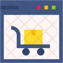 Online Shopping Online Shop Grow Shop Icon