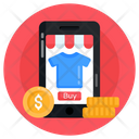 Online Purchase Online Shopping Ecommerce Icon