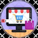 Online Shopping E Shopping Ecommerce Icon