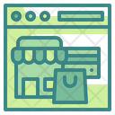 Online Shopping Shopping Online Store Icon