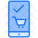 Online Shopping E Commerce Mobile Icon
