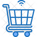 Online Shopping Cart Shopping Icon