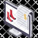 Online Shopping E Commerce Internet Buying Icon