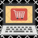 Online Shopping Ecommerce Shopping App Icon