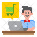 Online Shopping Online Shopping Cart Shopping Icon
