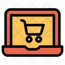 Cart Ecommerce Laptop Icon