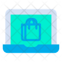 Computer E Commerce Laptop Icon