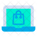 Computer E Commerce Laptop Icon