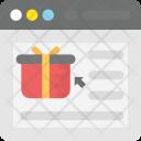 Ecommerce Website Shopping Icon